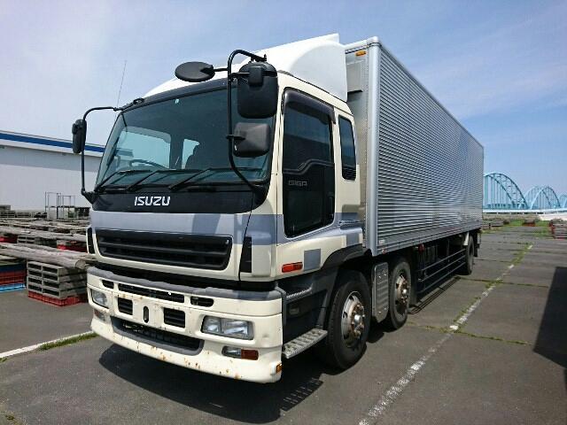 Isuzu giga (Box Body), Loading Capacity: 10,400kg (10 4 ton), Engine